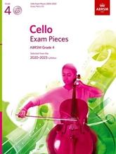 Picture of ABRSM Cello 2020-23 Grade 4 Cello/Piano/CD