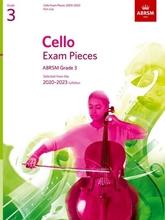 Picture of ABRSM Cello 2020-23 Grade 3 Cello Part