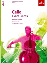 Picture of ABRSM Cello 2020-23 Grade 4 Cello Part
