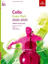 Picture of ABRSM Cello Initial Grade Exam Pack 2020-23