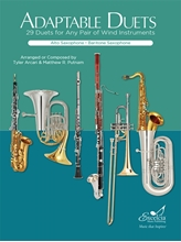 Picture of Adaptable Duets for Winds - Alto/Bari Sax