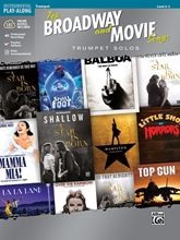 Picture of Top Broadway and Movie Songs Trumpet Solo Book/OA