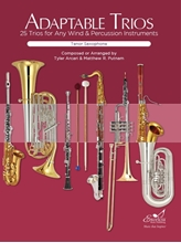 Picture of Adaptable Trios for Winds - Tenor Sax