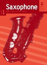 Picture of AMEB Alto Saxophone Series 1 Grades 1-4