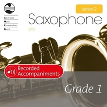 Picture of AMEB Alto Saxophone Series 2 Grade 1 Piano Accompaniment CD