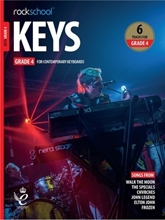 Picture of Rockschool Keys Grade 4 2019+