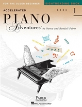 Picture of Accelerated Piano Adventures Book 1 Sight Reading