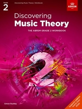 Picture of ABRSM Discovering Music Theory Grade 2 Workbook