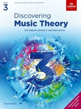 Picture of ABRSM Discovering Music Theory Grade 3 Answers