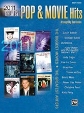 Picture of 2011 Greatest Pop & Movie Hits - Easy Piano