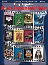 Picture of Easy Popular Movie Instrumental Solos Violin Bk/CD