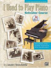 Picture of I Used to Play Piano: Refresher Course Book/CD