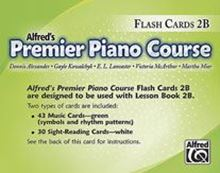 Picture of Premier Piano Course Flash Cards Level 2B
