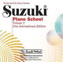 Picture of Suzuki Piano School Volume 2 CD