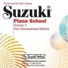 Picture of Suzuki Piano School Volume 3 CD