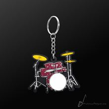Picture of Key Chain Drum Set Red