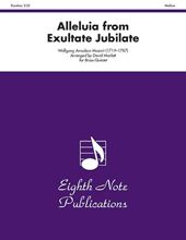 Picture of Alleluia from Exultate Jubilate Brass Quintet