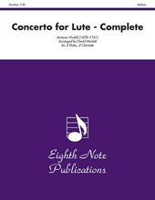 Picture of Concerto for Lute - Complete 2 Flutes 2 Clarinets