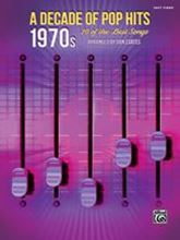 Picture of A Decade of Pop Hits 1970s Easy Piano