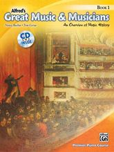 Picture of Alfred's Great Music and Musicians Book 1