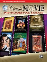 Picture of Classic Movie Instrumental Solos Violin Bk/CD