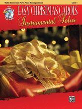 Picture of Easy Christmas Carols Instrumental Solos Violin Bk/CD