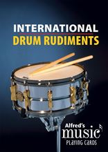 Picture of Music Playing Cards International Drum Rudiments