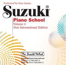 Picture of Suzuki Piano School Volume 4 CD