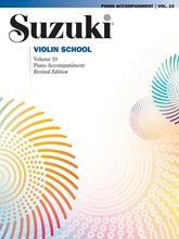Picture of Suzuki Violin School Volume 10 Piano Accompaniment