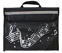 Picture of Musicwear Wavy Stave Music Bag Black
