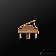 Picture of Music Pin Grand Piano Copper