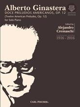 Picture of 12 American Preludes Piano Solo