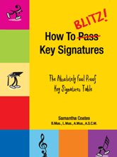 Picture of How to Blitz Key Signatures