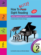 Picture of How to Blitz Sight Reading Book 2 - Grade 3 to Grade 4