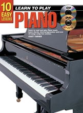 Picture of 10 Easy Lessons Learn To Play Piano Bk/CD/DVD/Chart