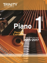 Picture of Trinity Piano Exam Pieces & Exercises 2015-17 Grade 1