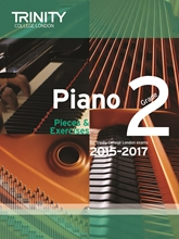 Picture of Trinity Piano Exam Pieces & Exercises 2015-17 Grade 2