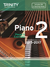 Picture of Trinity Piano Exam Pieces & Exercises 2015-17 Grade 2 Bk/Cd