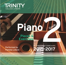 Picture of Trinity Piano Exam Pieces & Exercises 2015-17 Grade 2 CD