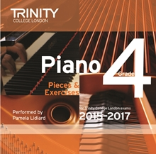 Picture of Trinity Piano Exam Pieces & Exercises 2015-17 Grade 4 CD