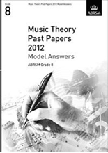 Picture of ABRSM Music Theory Model Answers 2012 Grade 8