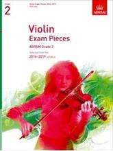 Picture of ABRSM Violin Grade 2 2016-19 Pt