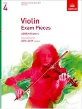 Picture of ABRSM Violin Grade 4 2016-19 Pt