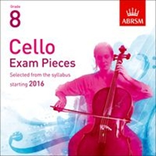 Picture of ABRSM Cello Exam CD 2016-19 Grade 8