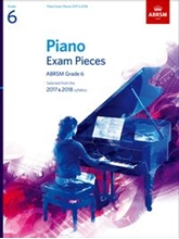 Picture of ABRSM Piano Exam Pieces Gr 6 2017-2018 Book