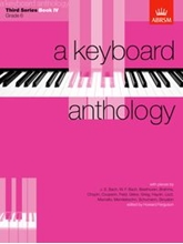 Picture of A Keyboard Anthology Third Series Book IV
