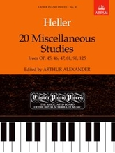 Picture of 20 Miscellaneous Studies from Op 45 46 47 81 90 & 125 Piano