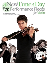 Picture of A New Tune a Day Pop Performance Pieces Violin Book/CD