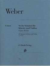 Picture of 6 Violin Sonatas op 10b