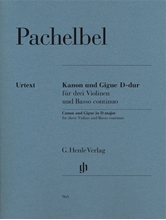 Picture of Canon and Gigue for Three Violins and Basso Continuo
